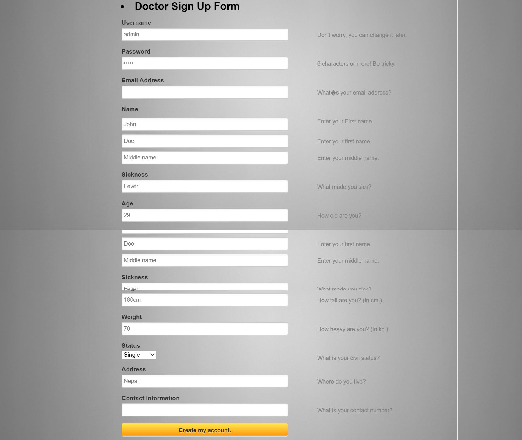 Système de rendez-vous pour les médecins en PHP avec code source
