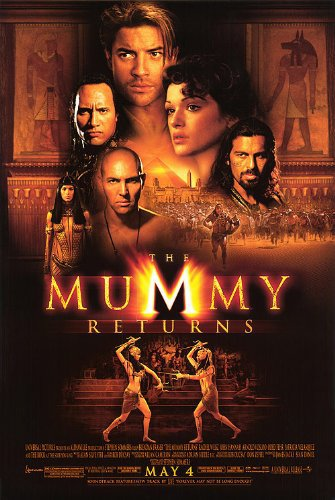 The Mummy Returns 2001 Hindi Dual Audio 720p BluRay ESubs 950MB | 450MB Download