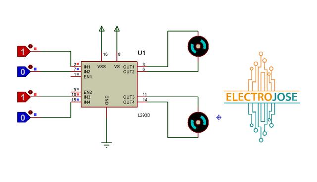 L293d-Control-Motores