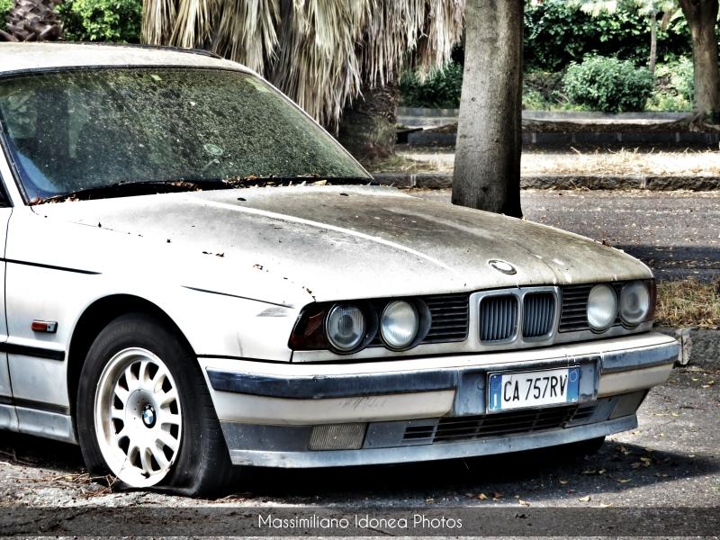 Auto Abbandonate - Pagina 19 Bmw-E34-Touring-525-tds-2-5-143cv-CA757-RV-8