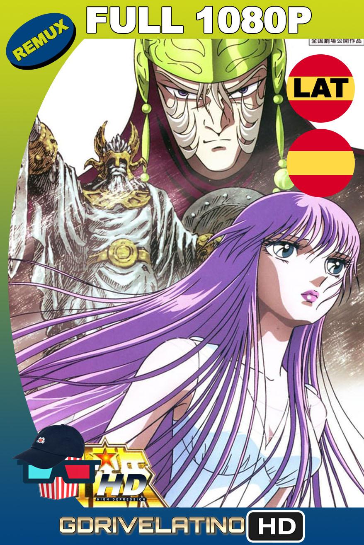 Saint Seiya: Los Caballeros del Zodiaco y la gran batalla de los dioses (1988) BDRemux 1080p Latino-Castellano-Japonés MKV