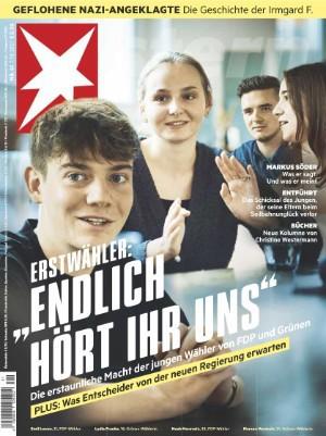 Cover: Der Stern Nachrichtenmagazin No 41 vom 07  Oktober 2021