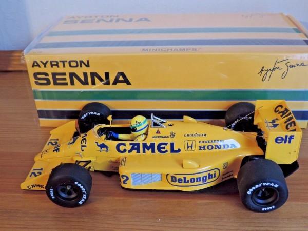 Senna Minichamps LOTUS honda 99T 1987