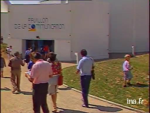 Anciens spectacles du Pavillon de la Communication - Page 3 1988-POC8808051311-Ouverture-du-Le-vitoscope-03-aou-t-1988-FR3-17-aou-t-2020-a-19-39-23