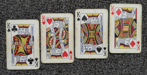 The Kings have multiple meanings for playing cards