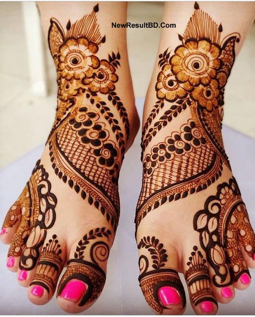 Leg's Mehedi Design