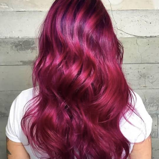 raspberry -hair-color