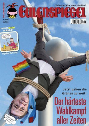 Cover: Eulenspiegel Satiremagazin No 08 2021
