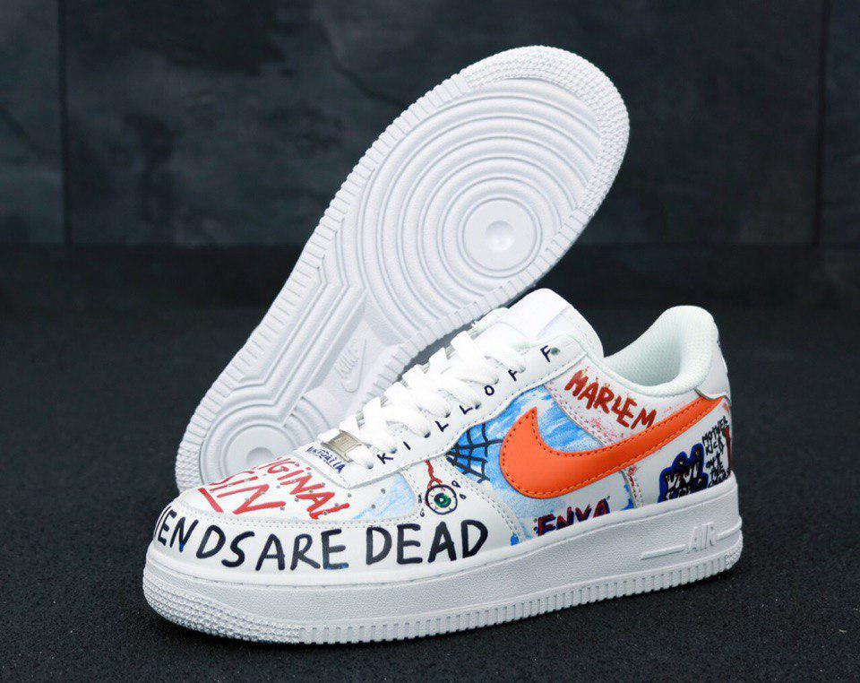 Кроссовки мужские Nike Air Force x Pauly x Vlone Pop