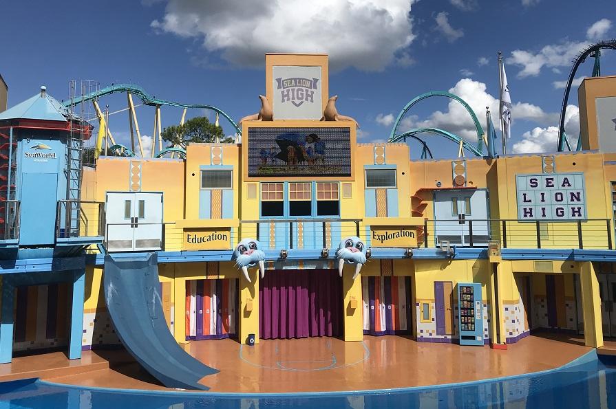 SeaWorld Orlando shows