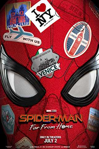 Spider-Man: Far from Home 2019 Download English 480p 720p