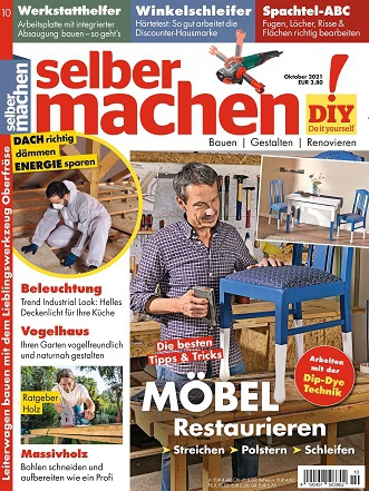 Cover: Selber Machen Heimwerkermagazin No 10 Oktober 2021