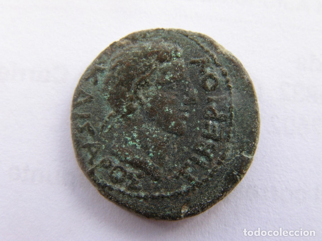12 Units de Tiberio. Reino del Bósforo 01