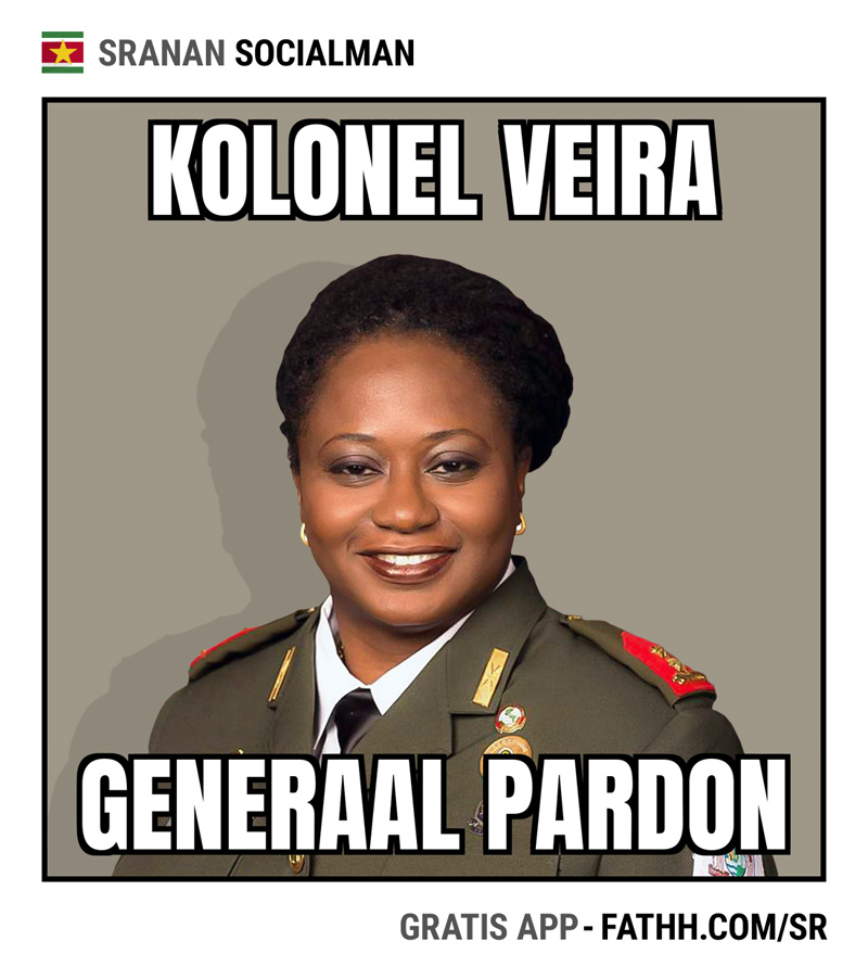 Sranan Socialman : Kolonel Veira en Generaal Pardon