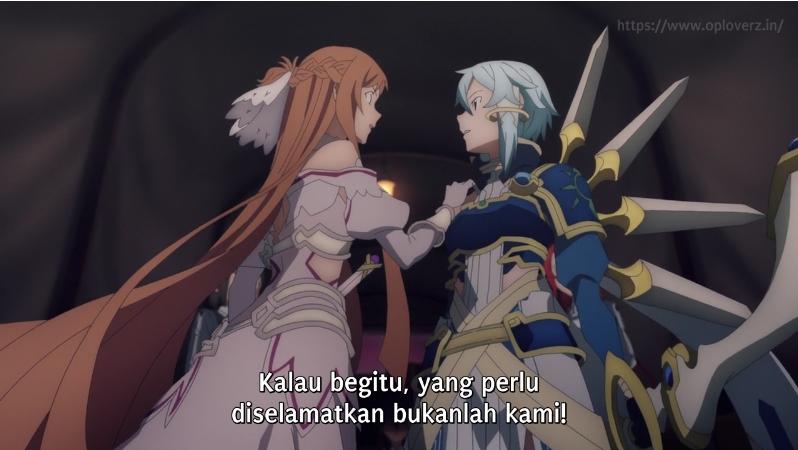 Sword Art Online Alicization War of Underworld Episode 13 Subtitle Indonesia