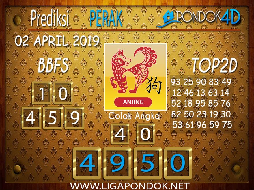 Prediksi Togel PERAK PONDOK4D 02 APRIL 2019