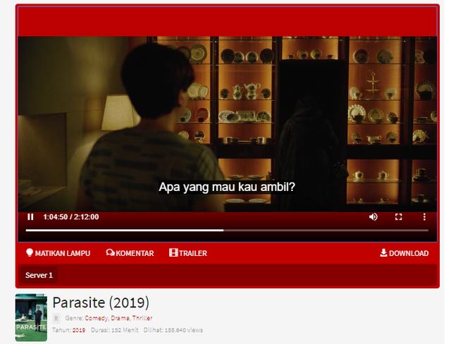 Parasite (2019): Film Bioskop Drama Korea Dengan Sub Indo