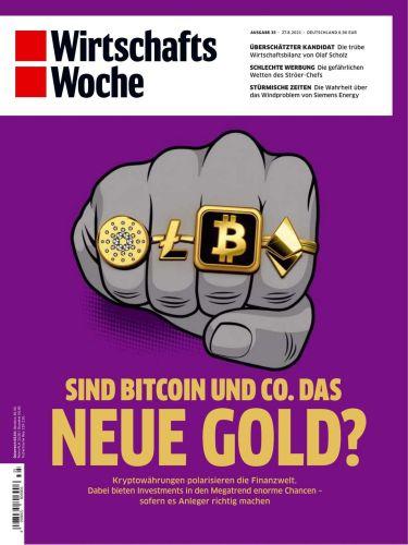 Cover: Wirtschaftswoche Magazin No 35 vom 27  August 2021