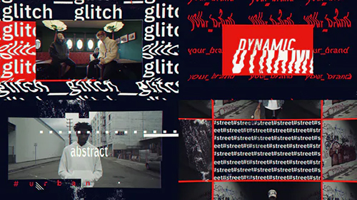 Glitch Urban Opener 25568577 - Project for After Effects (Videohive)