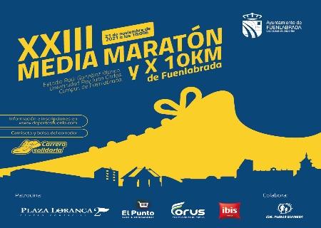 Abiertas inscripciones de la XXIII Media Maratón de Fuenlabrada y X 10 Km de Fuenlabrada