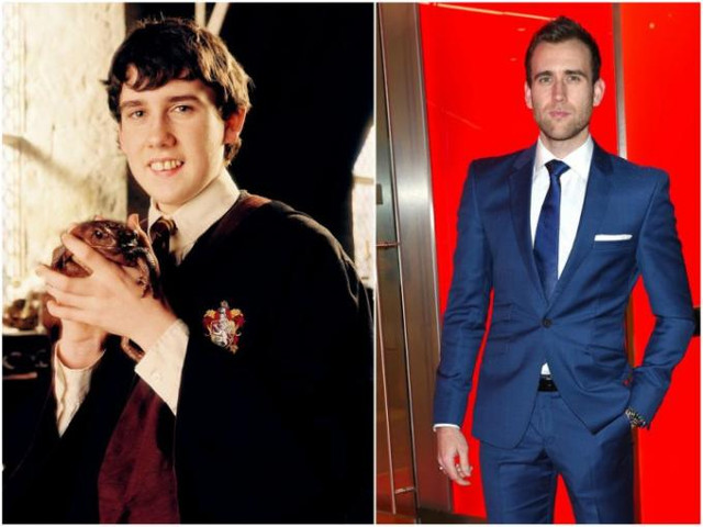 Matthew Lewis antes y ahora