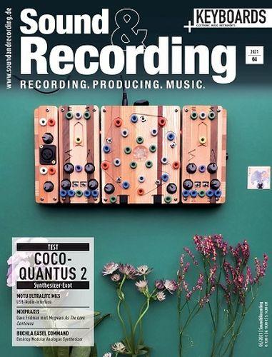 Cover: Sound & Recording Magazine No 04 2021