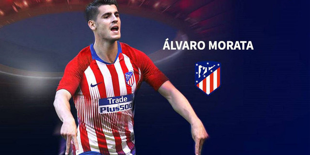 Morata Ke Atletico Madrid