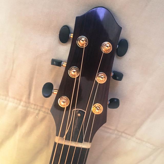 Sergei De Jonge Standard Steel String European / Brazilian Headstock-2