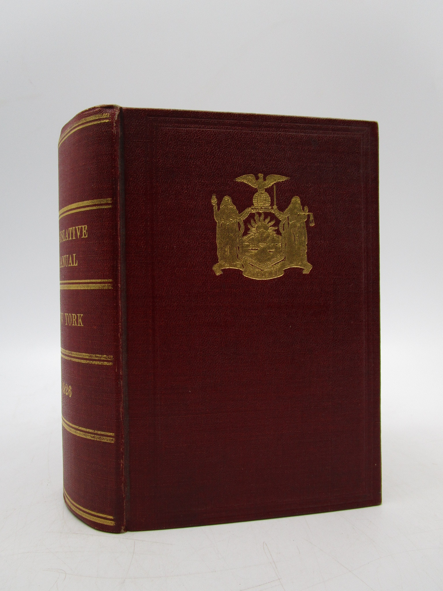 Image for Manual for the use of the Legislature of the State of New York 1926 (First Edition)