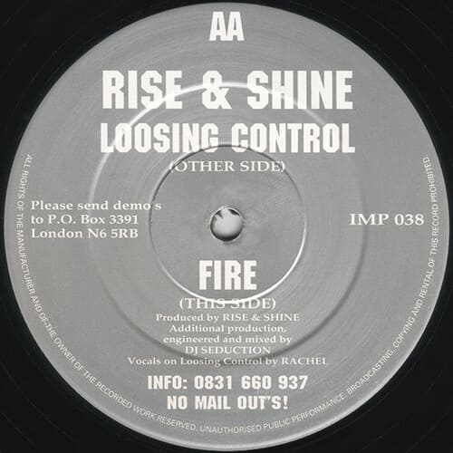 Download Rise & Shine - Loosing Control / Fire mp3