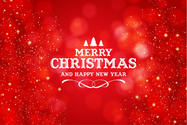 merry-christmas-happy-new-year-logo-with-realistic-christmas-red-bokeh-background-1361-3111