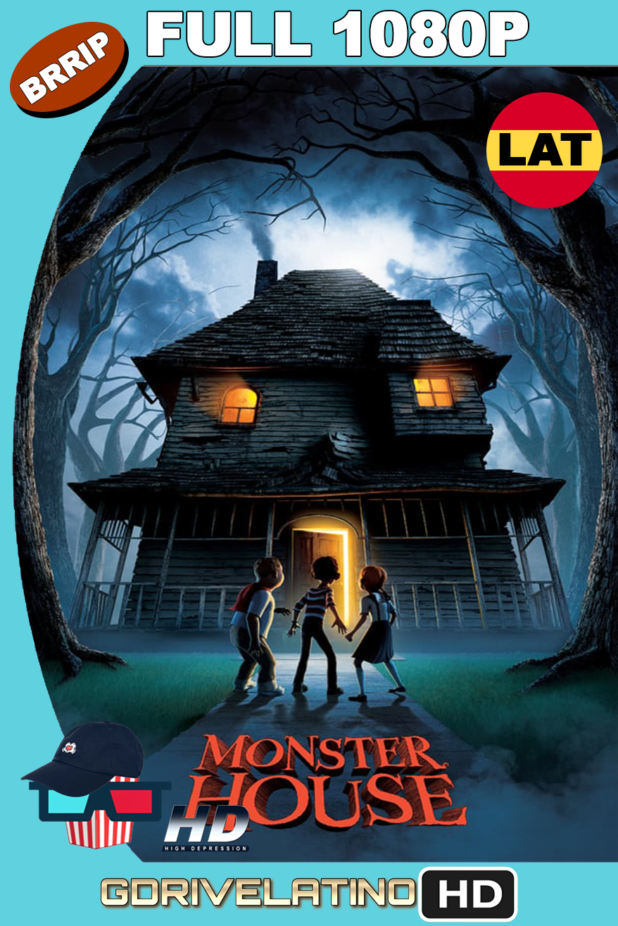 Monster House: La Casa de los Sustos (2006) BRRip 1080P latino-ingles MKV
