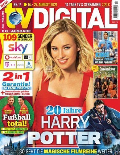 Cover: Tv Digital Xxl Fernsehzeitschrift No 17 vom 14  August 2021