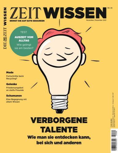 Cover: Die Zeit Wissen Magazin No 06 November-Dezember 2021