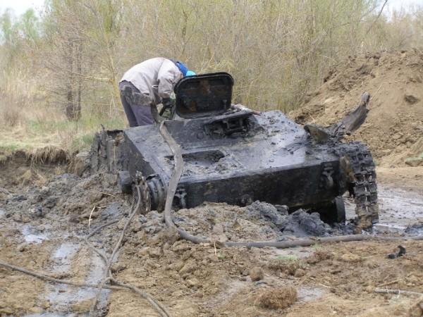 Soviet tank T-60