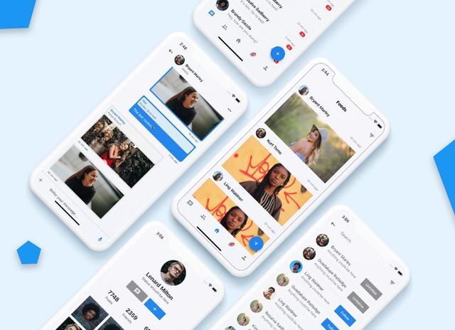 Flutter-Social-App-UIKitv