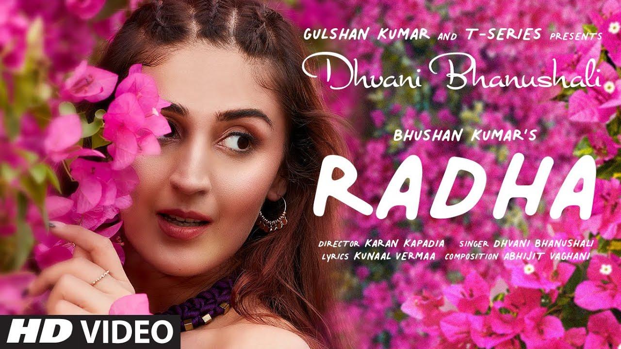 Radha By Dhvani Bhanushali Official Music Video (2021) HD