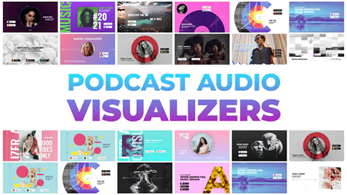 Podcast Audio Visualizers 32505559 - Project for After Effects (Videohive)