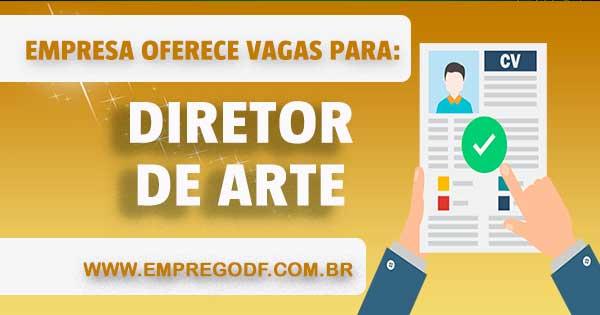 EMPREGO PARA DIRETOR DE ARTE