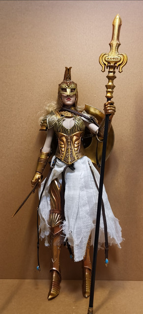 "NEW PRODUCT: COO MODEL X HOMER 1/6th scale PANTHEON - Hades Goddess of the Underworld 12"" Figure 25"