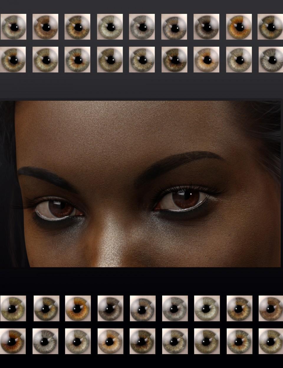 Natural Eyes for Genesis 8
