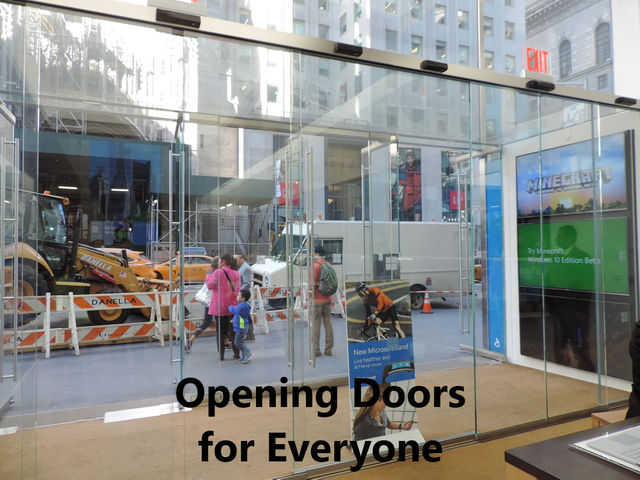Opening Doors for Everyone