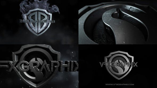 Dark Shield Logo 30898634 - Project for After Effects (Videohive)