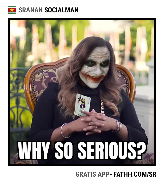 Sranan Socialman : Why So Serious