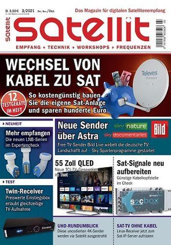 Cover: Satellit Magazin Oktober-Dezember No 03 2021
