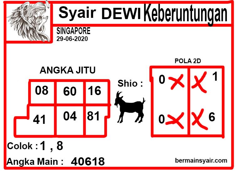 SYAIR-DEWI-KEBERUNTUNGAN-SGP
