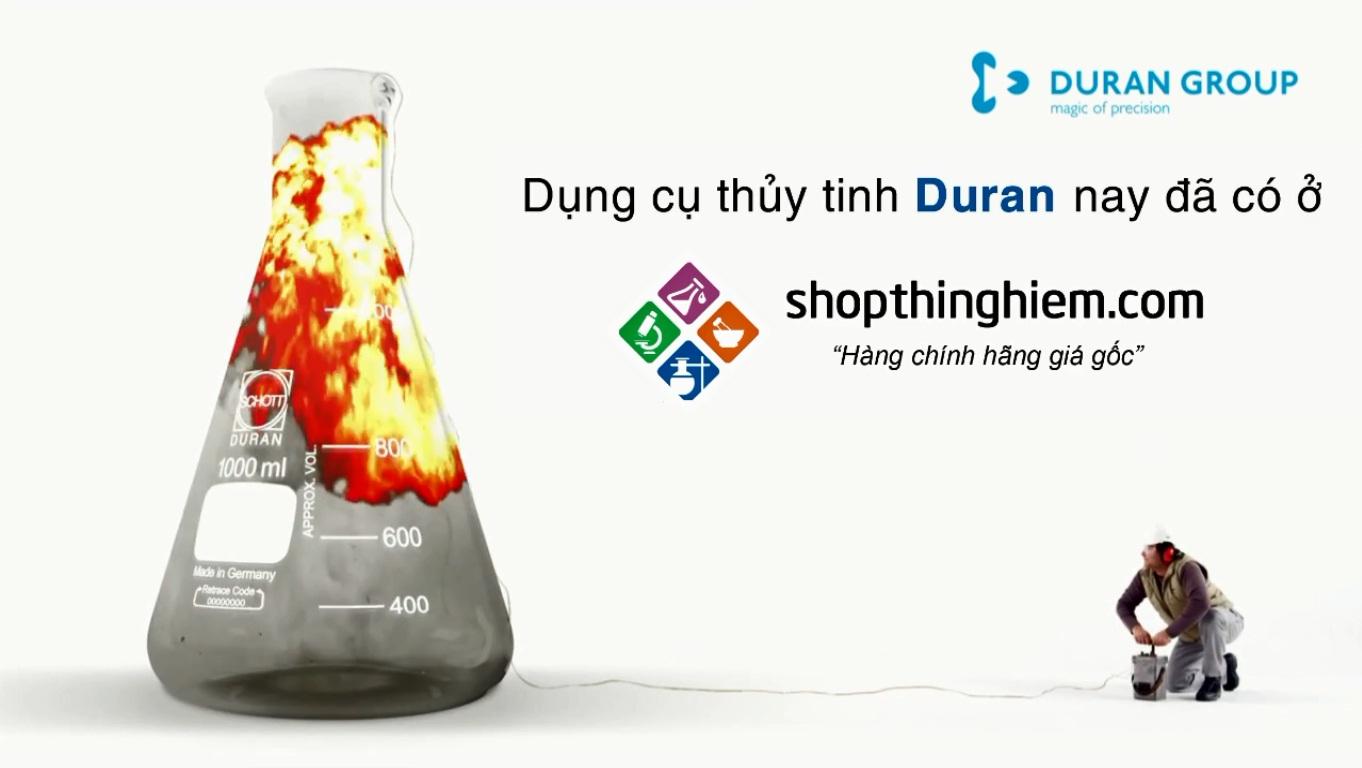 DỤNG CỤ THỦY TINH DURAN cho phòng thí nghiệm nay đã có ở shopthinghiem.com