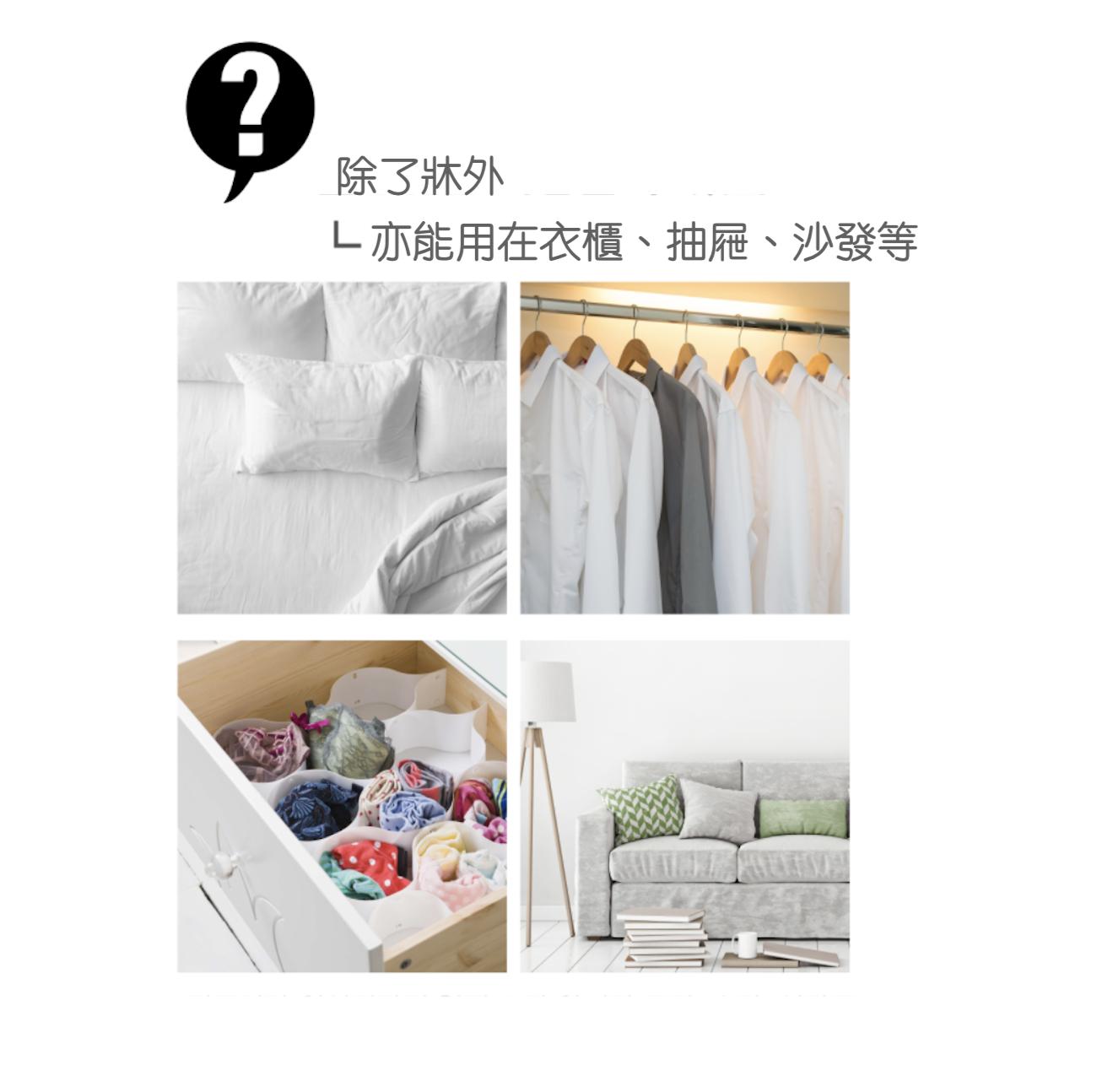 [shiPAPA] 防塵防蜱墊 2片入|韓國直送|香港 澳門