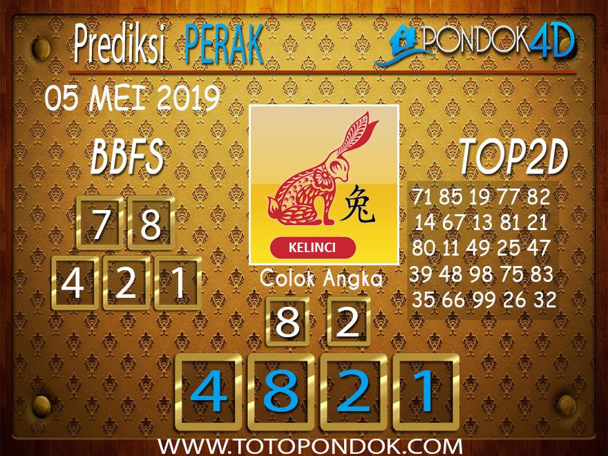 Prediksi Togel PERAK PONDOK4D 05 MEI 2019