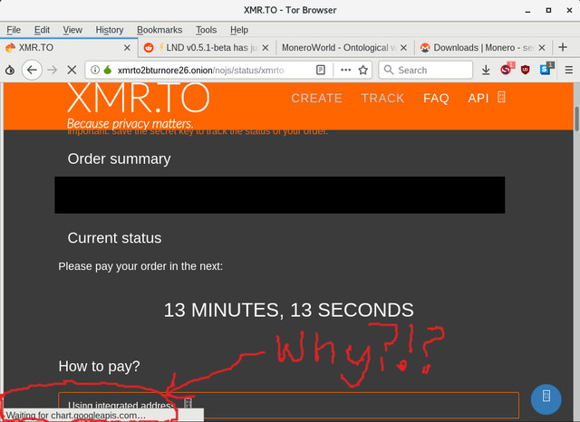 Why does xmr to leak http requests to Google? : Monero